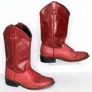 Laredo Riding Boots Western Cowboy Red 6.5 | AP